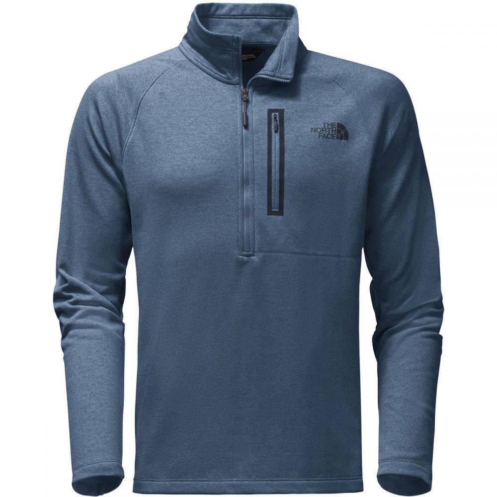 ザ ノースフェイス The North Face メンズ トップス フリース【Canyonlands 1/2 - Zip Pullover Fleece Jackets】Shady Blue Heather