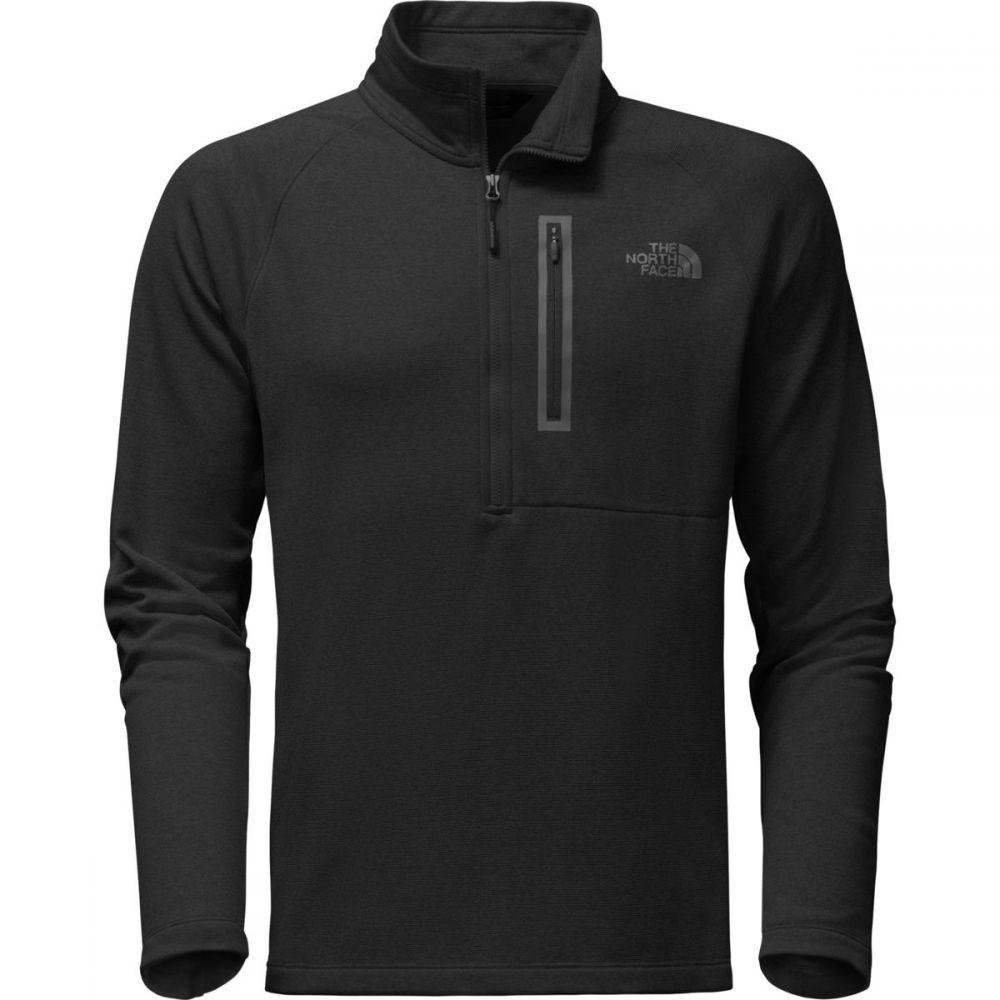 ザ ノースフェイス The North Face メンズ トップス フリース【Canyonlands 1/2 - Zip Pullover Fleece Jackets】Tnf Black