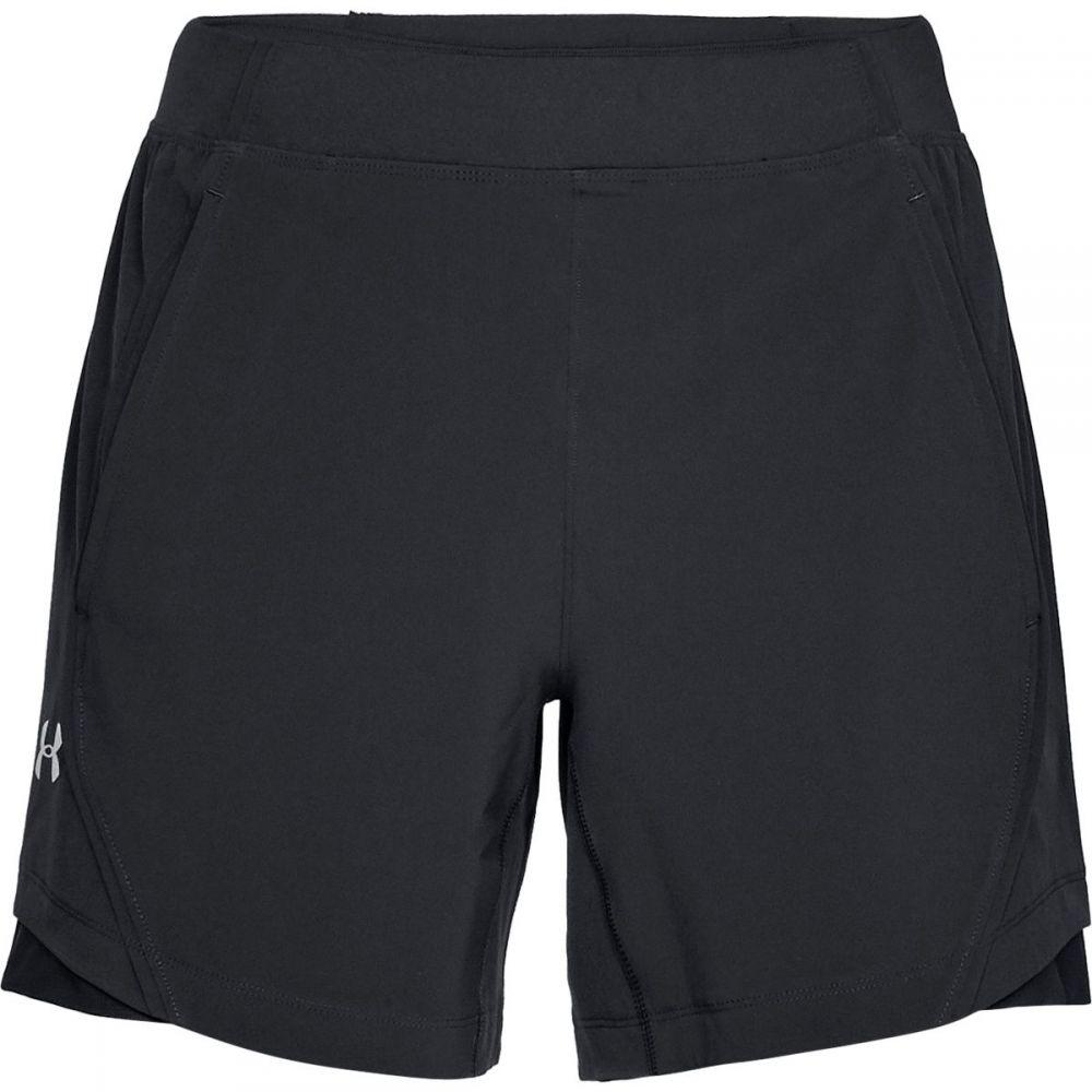 アンダーアーマー Under Armour メンズ ボトムス・パンツ ショートパンツ【Speedpocket Linerless 6in Shorts】Black/Black/Reflective