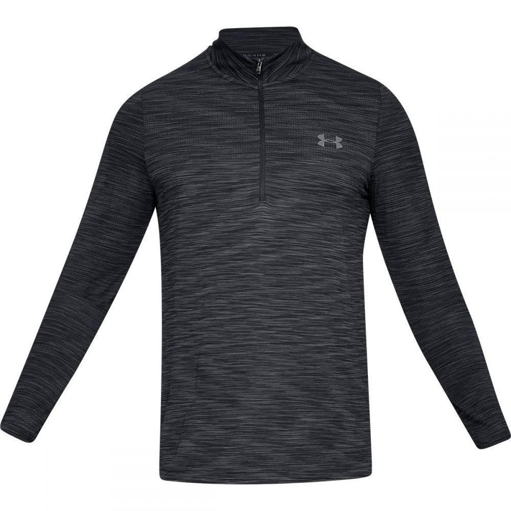 アンダーアーマー Under Armour メンズ トップス【Vanish Seamless 1/2 - Zip Shirts】Black/Graphite
