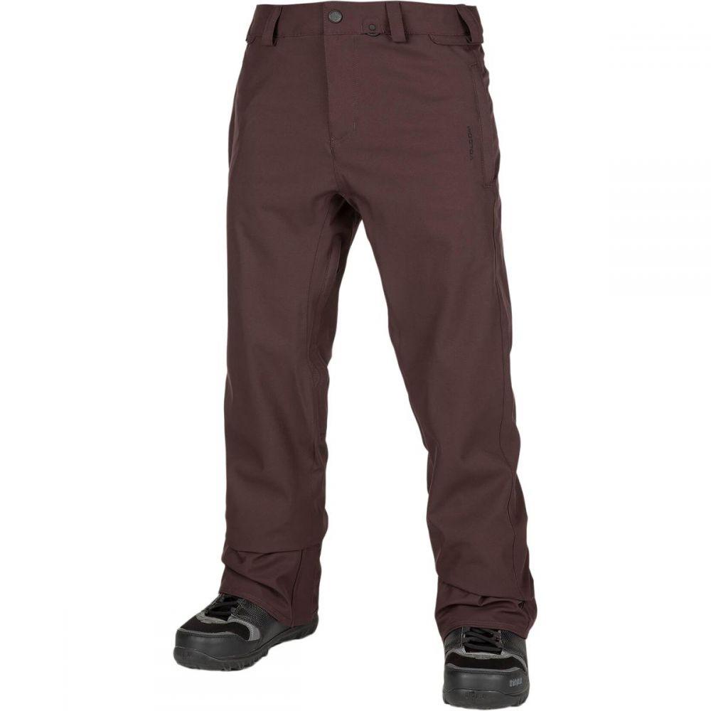 ボルコム Volcom メンズ スキー・スノーボード ボトムス・パンツ【Freakin Snow Chino Pants】Black/Red