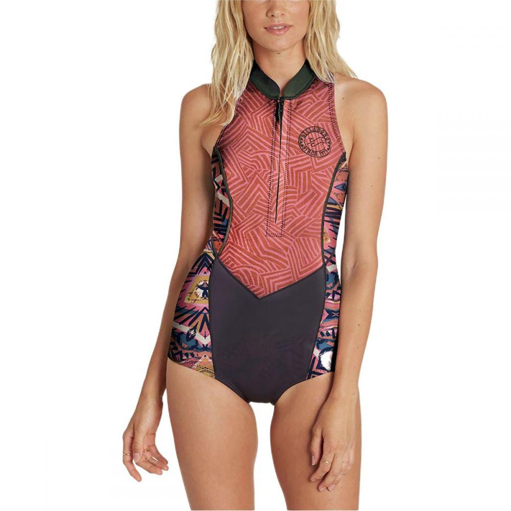 ビラボン Billabong レディース 水着・ビーチウェア ウェットスーツ【Sleeveless Springsuit】Seaside
