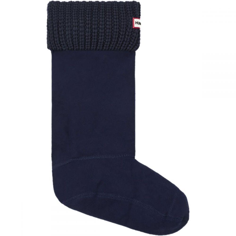 ハンター Hunter レディース インナー・下着 ソックス【Original Half Cardigan - Stitch Boot Sock】Navy