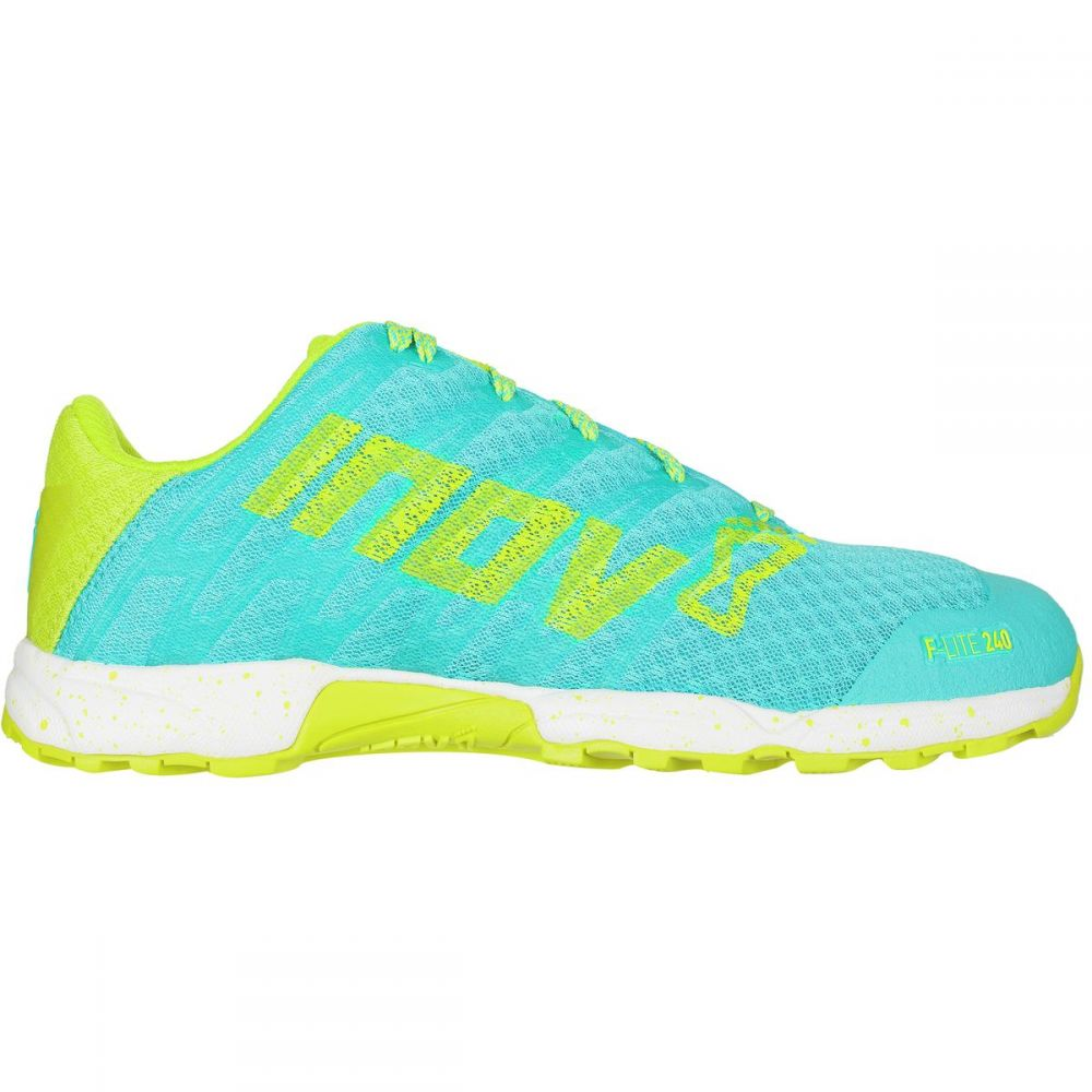 イノヴェイト Inov 8 レディース ランニング・ウォーキング シューズ・靴【F - Lite 240 Standard Fit Running Shoe】Blue/Lime/White