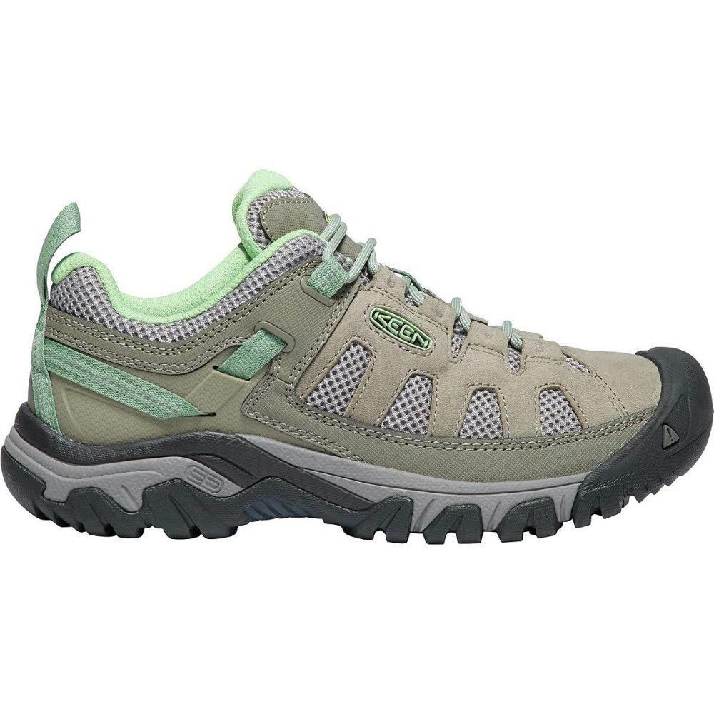 キーン KEEN レディース ハイキング・登山 シューズ・靴【Targhee Vent Hiking Shoe】Fumo/Quiet Green