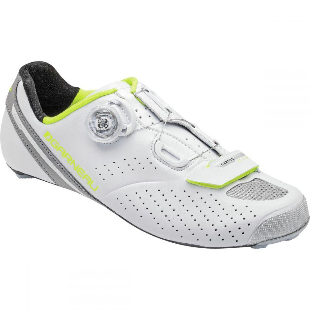 ルイガノ Louis Garneau レディース 自転車 シューズ・靴【Carbon LS - 100 II Shoes】White/Bright Yellow
