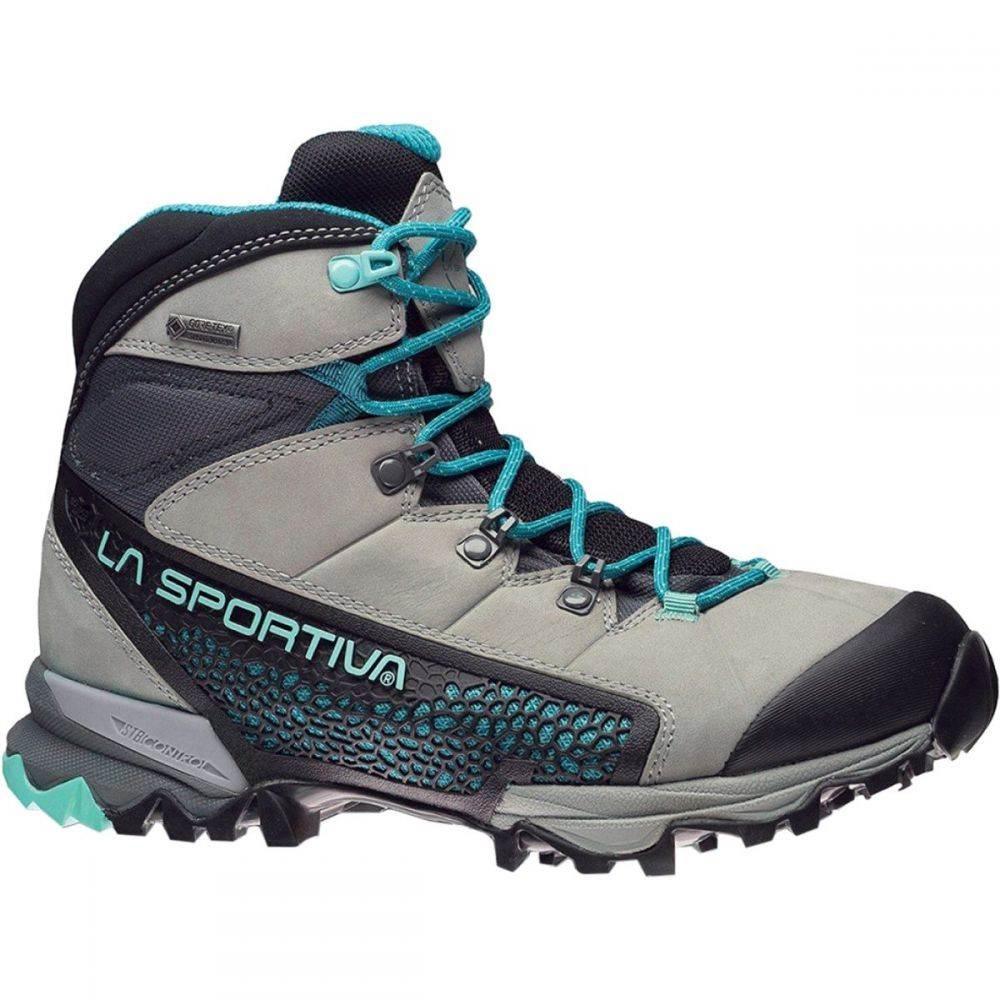 ラスポルティバ La Sportiva レディース ハイキング・登山 シューズ・靴【Nucleo High GTX Backpacking Boot】Grey/Mint
