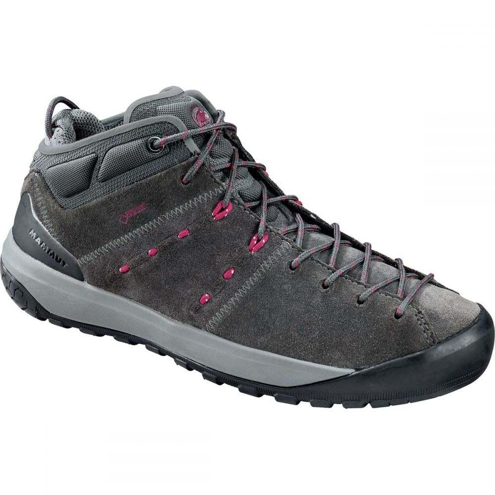 マムート Mammut レディース ハイキング・登山 シューズ・靴【Hueco Mid GTX Shoe】Graphite/Beet