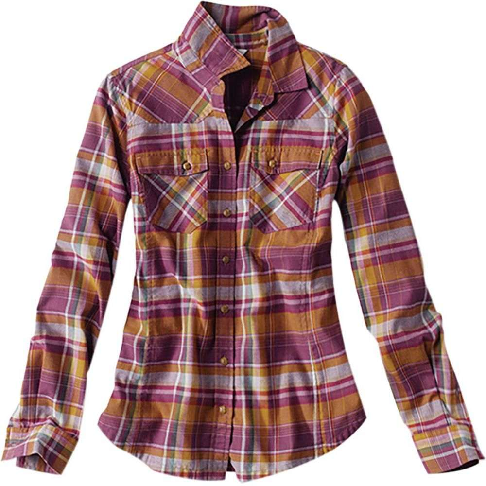 スペシャルオファ オービス Orvis トップス【Misty レディース 釣り・フィッシング トップス【Misty Western Morning Orvis Western Flannel Shirt】Deep Violet, USA OUTLET SHOP:4803e047 --- konecti.dominiotemporario.com