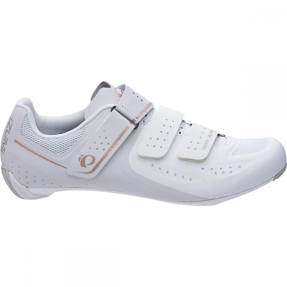 パールイズミ Pearl Izumi レディース 自転車 シューズ・靴【SELECT Road V5 Cycling Shoe】White/Grey