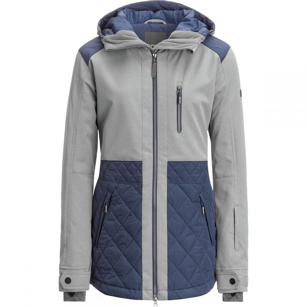Roxy アウター【Journey ロキシー スキー・スノーボード Blue Jacket】Crown Hooded レディース