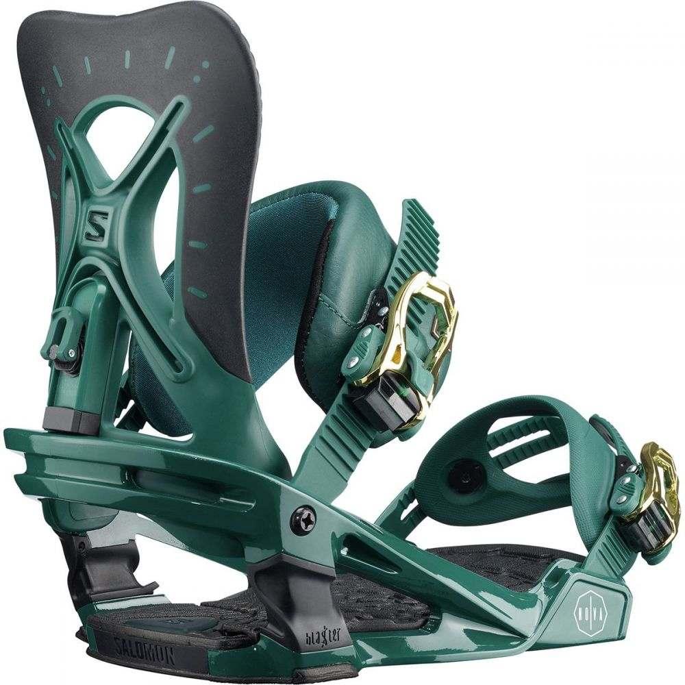 【史上最も激安】 サロモン Salomon Salomon Snowboards Binding】Teal サロモン レディース スキー・スノーボード ビンディング【Nova Snowboard Binding】Teal, 子持村:153d4059 --- canoncity.azurewebsites.net