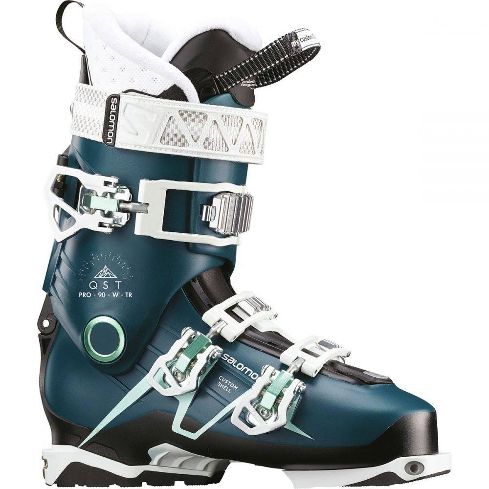サロモン Salomon レディース スキー・スノーボード シューズ・靴【QST Pro 90 TR Ski Boot】Petrol Blue/Black/Aruba Blue