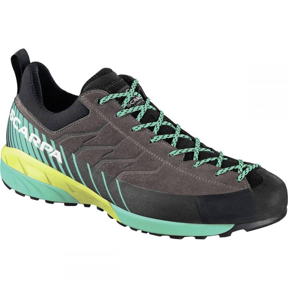 スカルパ Scarpa レディース ハイキング・登山 シューズ・靴【Mescalito Shoe】Titanium/Green Blue