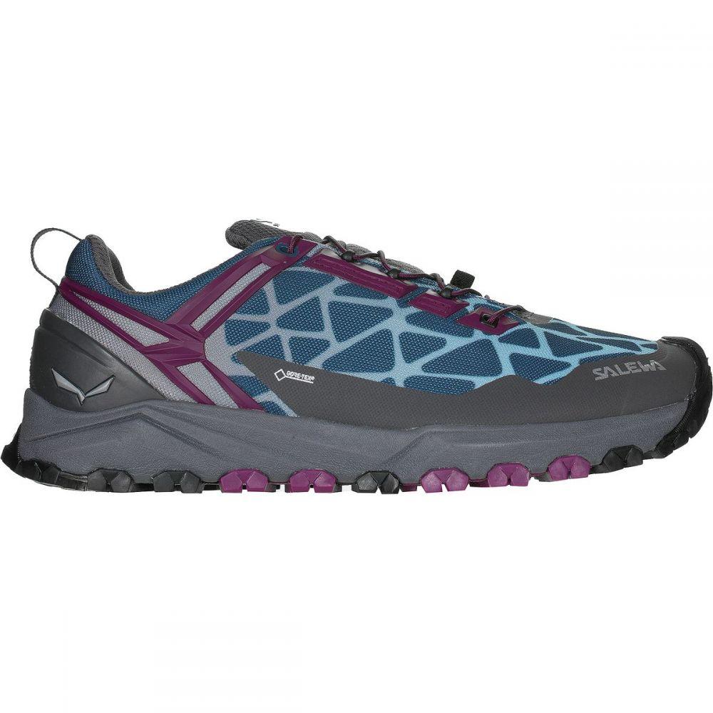 サレワ Salewa レディース ランニング・ウォーキング シューズ・靴【Multi Track GTX Running Shoe】Magenta Purple/Dark Denim
