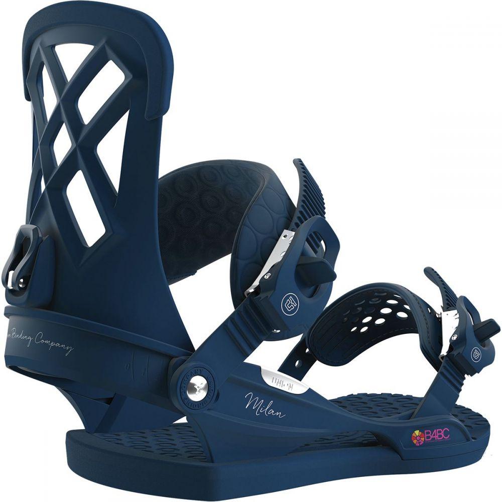 ユニオン Union レディース スキー・スノーボード ビンディング【Milan Snowboard Binding】Midnight Blue