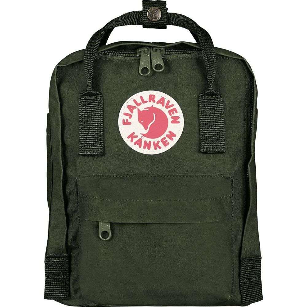 フェールラーベン Fjallraven レディース バッグ バックパック・リュック【Kanken Mini 7L Backpack】Forest Green