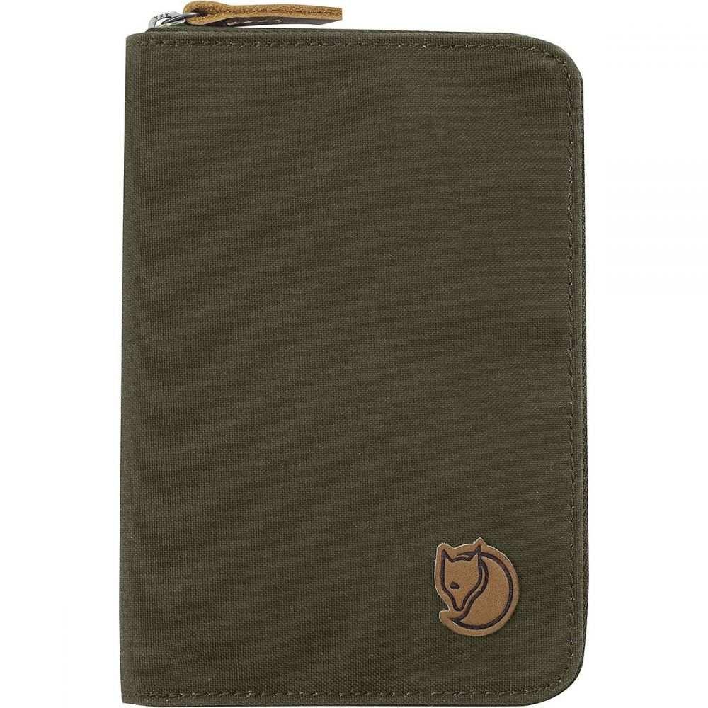 フェールラーベン Fjallraven レディース パスポートケース【Passport Wallet】Dark Olive