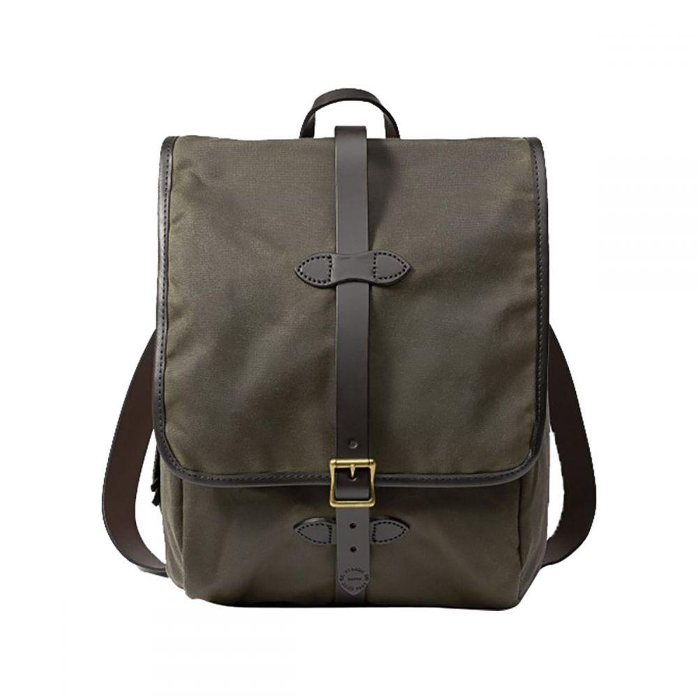 フィルソン Filson レディース バッグ バックパック・リュック【Tin Cloth Backpack】Otter Green