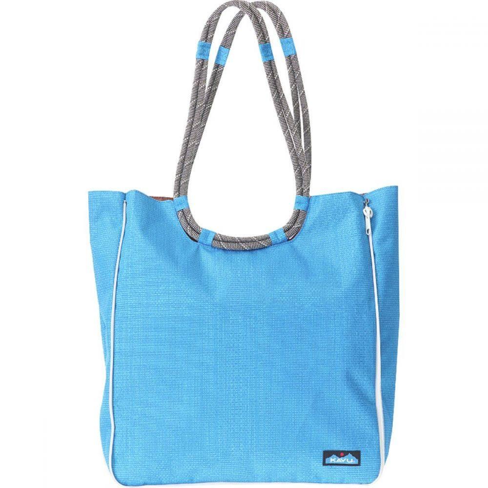 カブー KAVU レディース バッグ【Market Bag】Blue Tarp