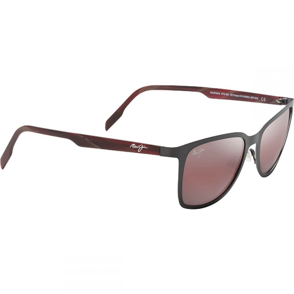 マウイジム Maui Jim レディース メガネ・サングラス【Naupaka Polarized Sunglasses】Dark Gunmetal/Maui Rose