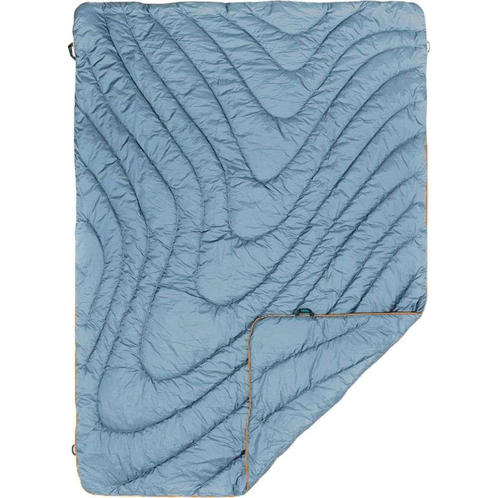 ルンプル Rumpl レディース 雑貨【The Original Puffy Throw Blanket】Slate Blue/Safety Orange