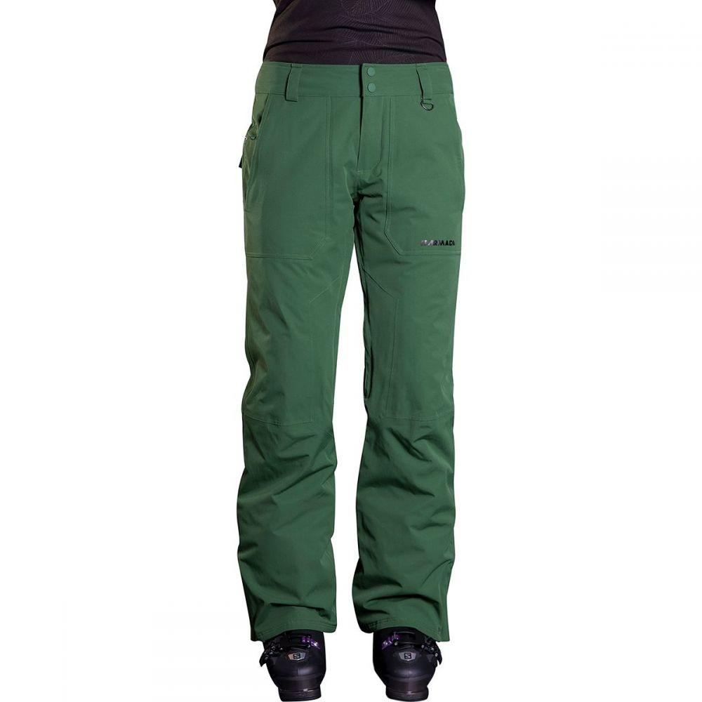 アルマダ Armada レディース スキー・スノーボード ボトムス・パンツ【Lenox Insulated Pant】Forest Green