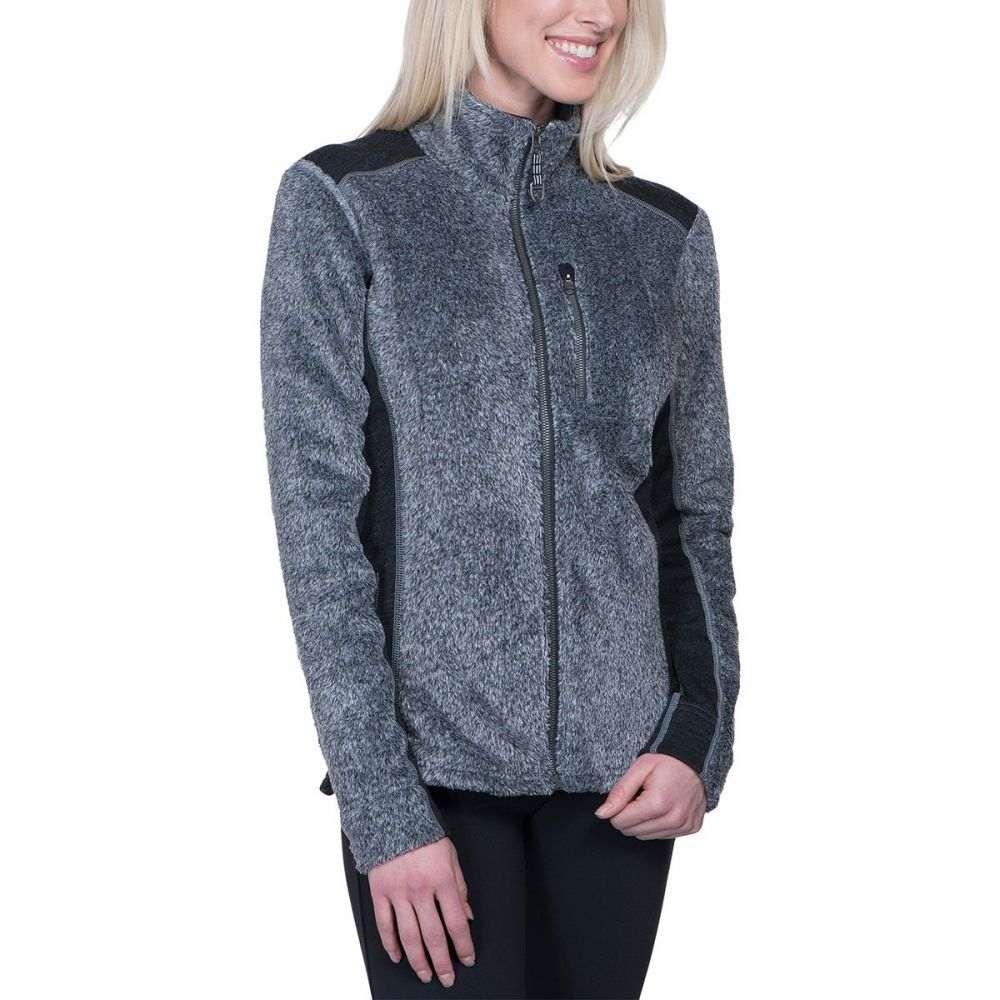 キュール KUHL レディース トップス フリース【Alpenlux Fleece Jacket】Ash