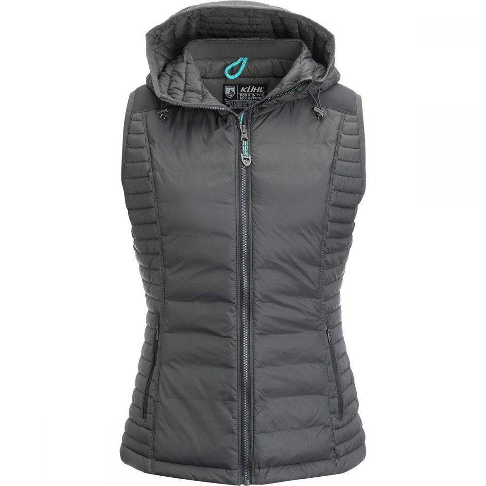 キュール KUHL レディース トップス ベスト・ジレ【Spyfire Hooded Down Vest】Carbon