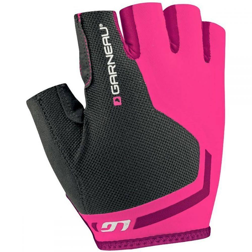 ルイガノ Louis Garneau レディース 自転車 グローブ【Mondo Sprint Gloves - Short Finger】Pink Glow