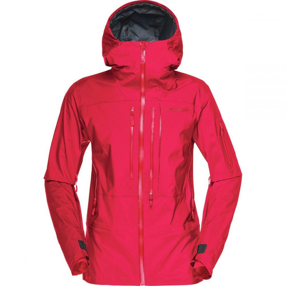 ノローナ Norrona レディース スキー・スノーボード アウター【Lofoten Gore - Tex Pro Jacket】Jester Red