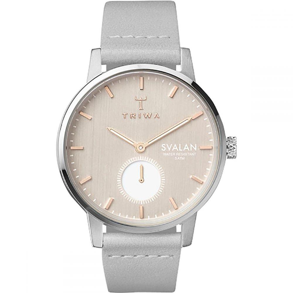 トリワ Triwa レディース 腕時計【Svalan Watch】Blush Svalan/Grey Classic Super Slim