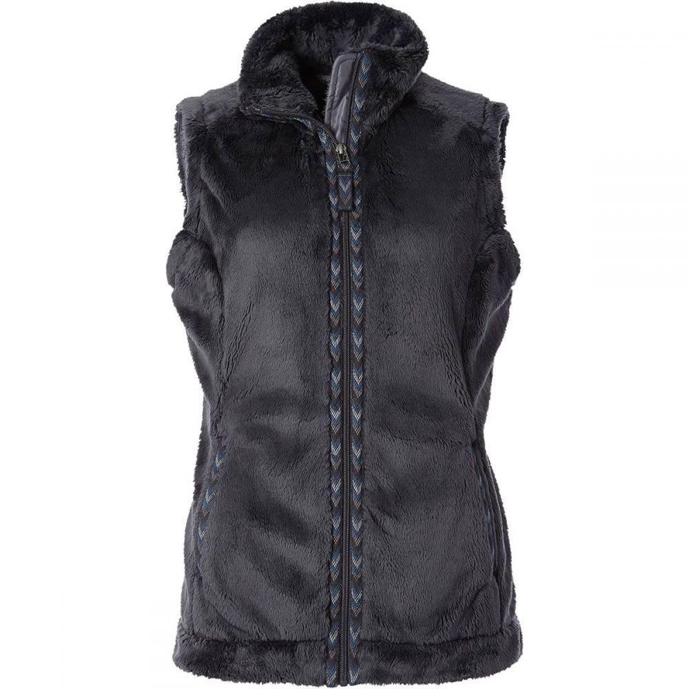 ロイヤルロビンズ Royal Robbins レディース トップス ベスト・ジレ【Samoyed Fleece Vest】Asphalt