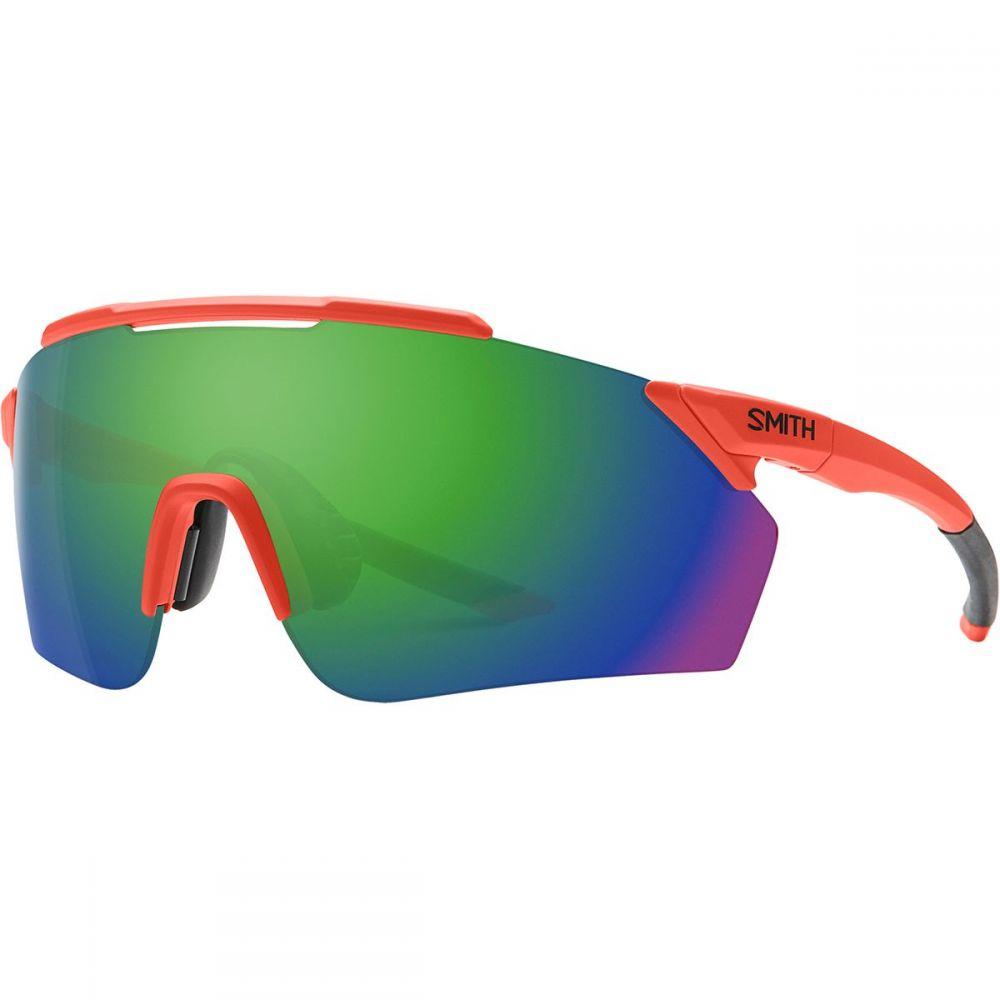 スミス Smith レディース スポーツサングラス【Ruckus ChromaPop Sunglasses】Matte Red Rock/Sun Green Mirror