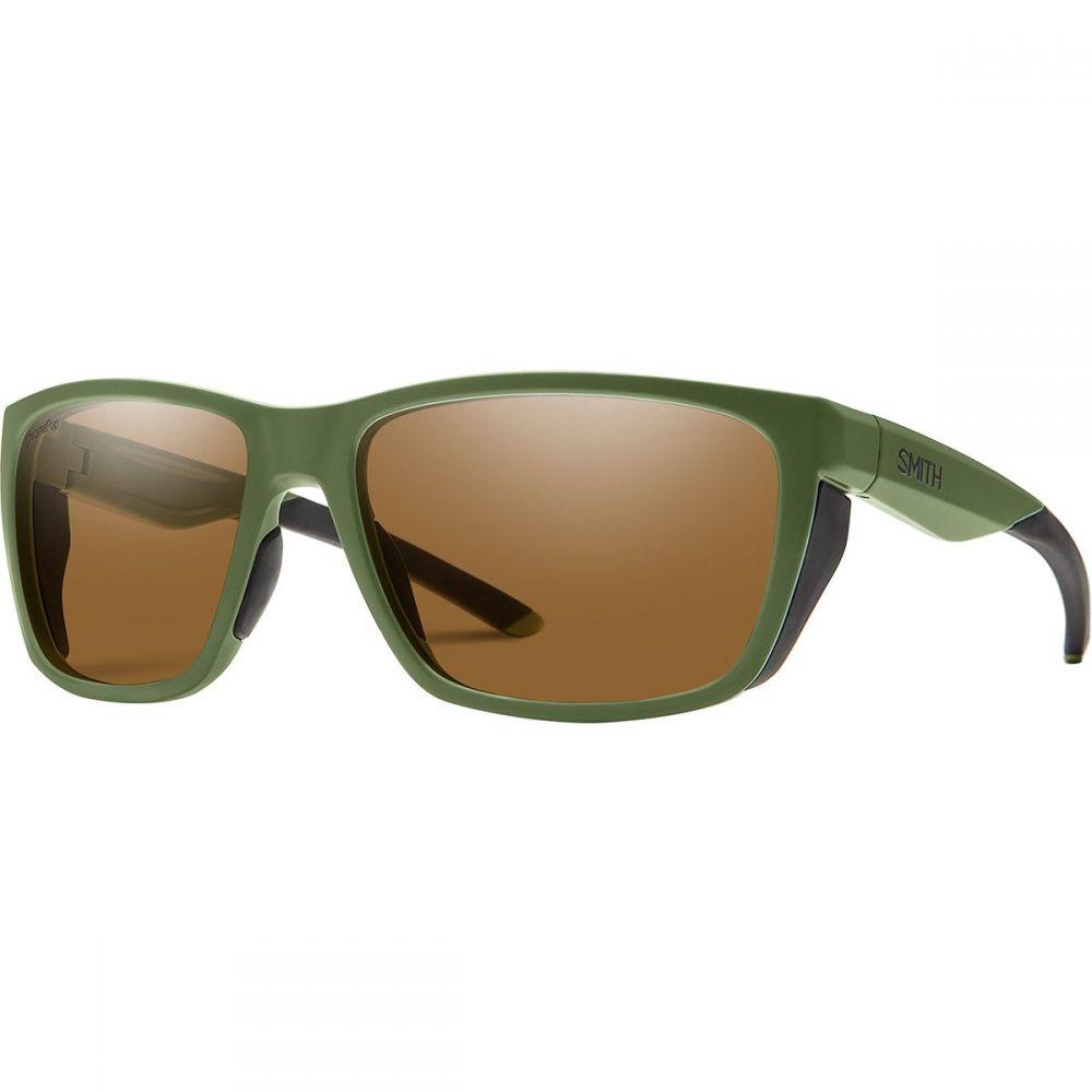 スミス Smith レディース メガネ・サングラス【Longfin Polarized Chromapop Sunglasses】Matte Moss/Polarized Brown