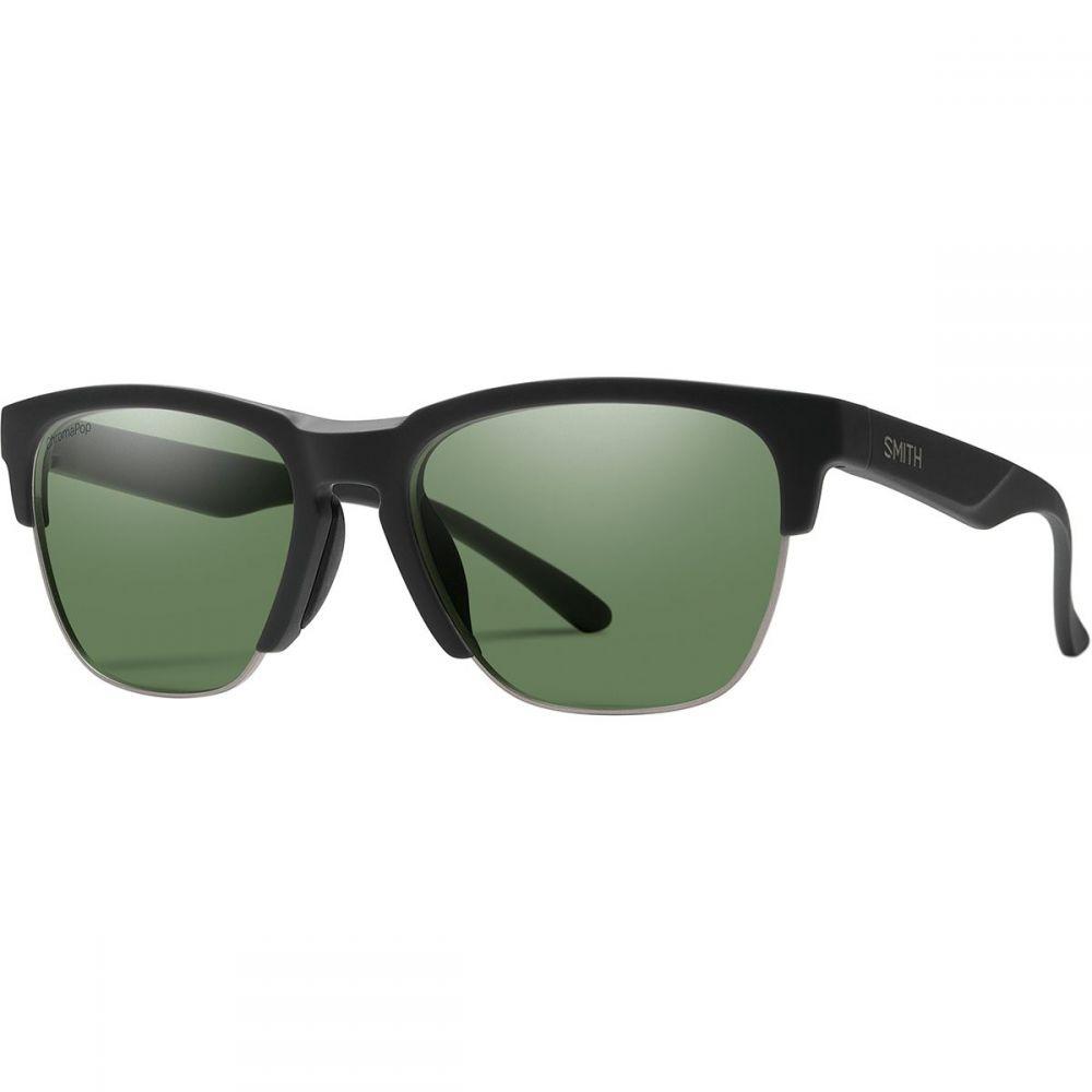 スミス Smith レディース メガネ・サングラス【Haywire ChromaPop Polarized Sunglasses】Matte Black/Polarized Gray Green
