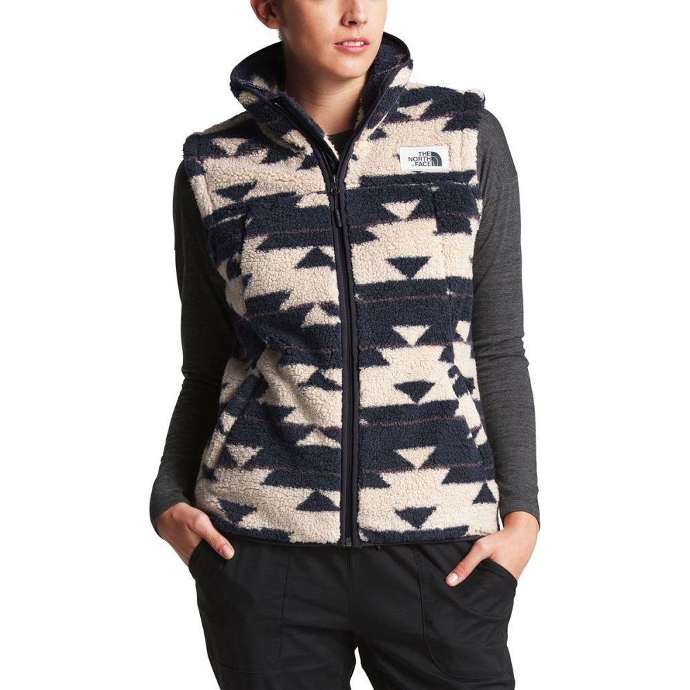 ザ ノースフェイス The North Face レディース トップス ベスト・ジレ【Campshire Fleece Vest】Peyote Beige California Basket Print