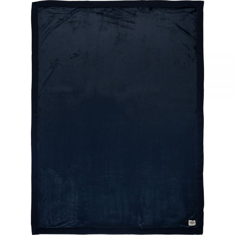 アグ UGG レディース 雑貨【Duffield Throw Blanket】Indigo