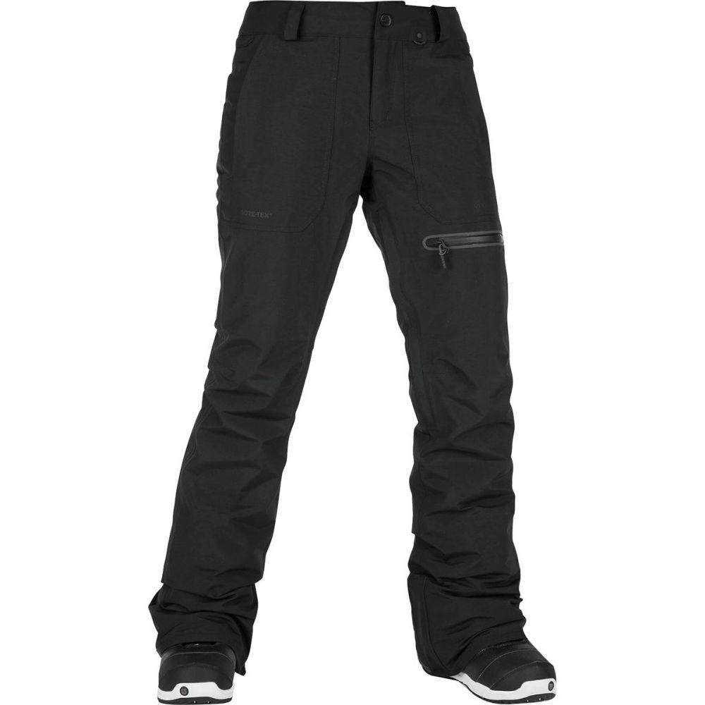 ボルコム Volcom レディース スキー・スノーボード ボトムス・パンツ【Knox Insulated Gore Pant】Black