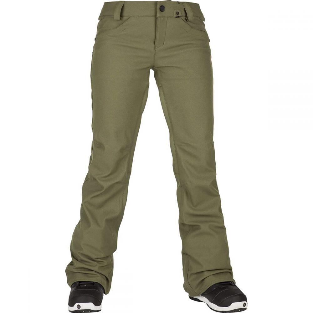 ボルコム Volcom レディース スキー・スノーボード ボトムス・パンツ【Species Stretch Pant】Military
