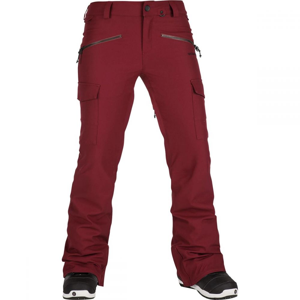 ボルコム Volcom レディース スキー・スノーボード ボトムス・パンツ【Mira Pant】Burnt Red