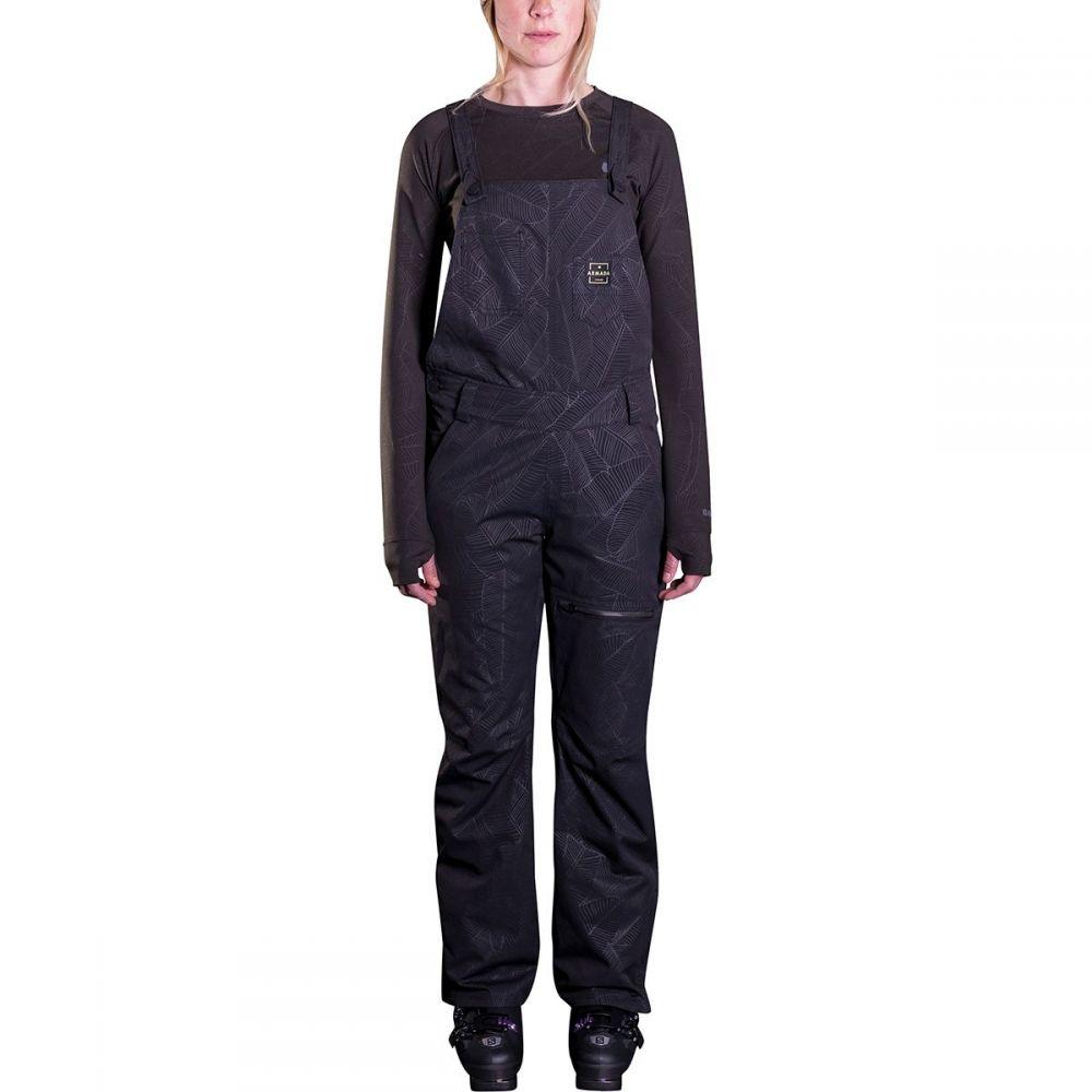 アルマダ Armada レディース スキー・スノーボード ボトムス・パンツ【Cassie Overall Pant】Black Banana Leaf