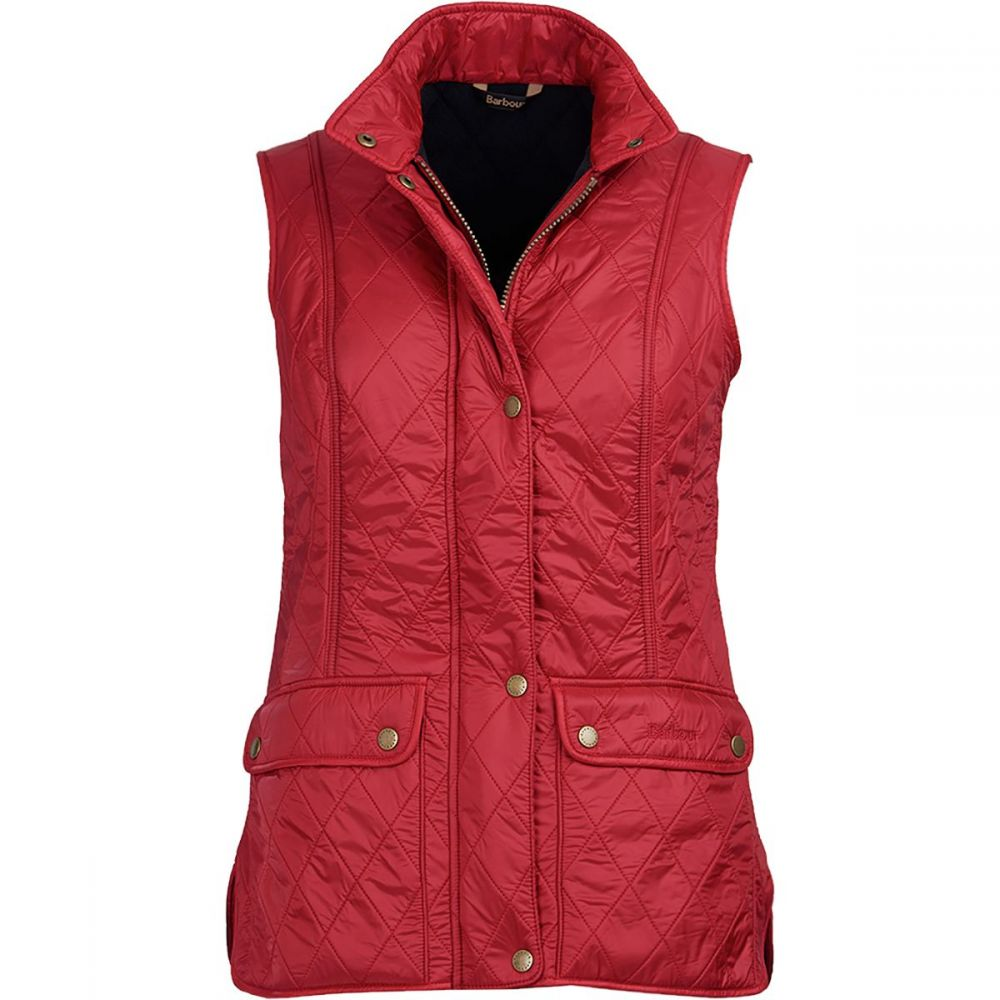 バーブァー Barbour レディース トップス ベスト・ジレ【Wray Gilet Vest】Chili Red