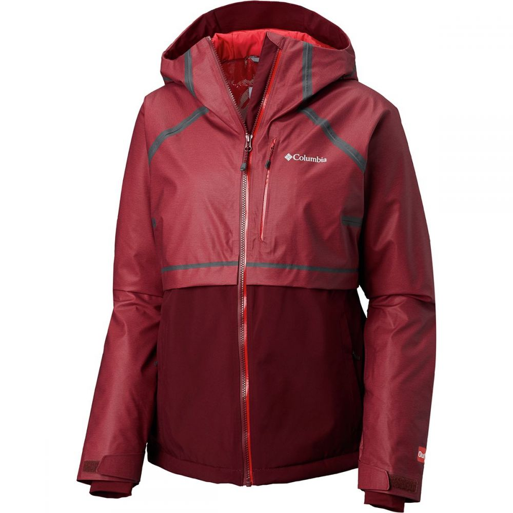 コロンビア Columbia レディース スキー・スノーボード アウター【Outdry Glacial Hybrid Jacket】Rich Wine Heather/Rich Wine