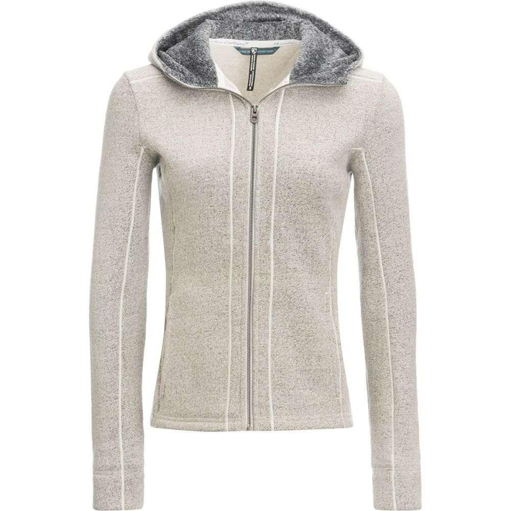 キュール KUHL レディース トップス フリース【Stella Hooded Fleece Jacket】Natural
