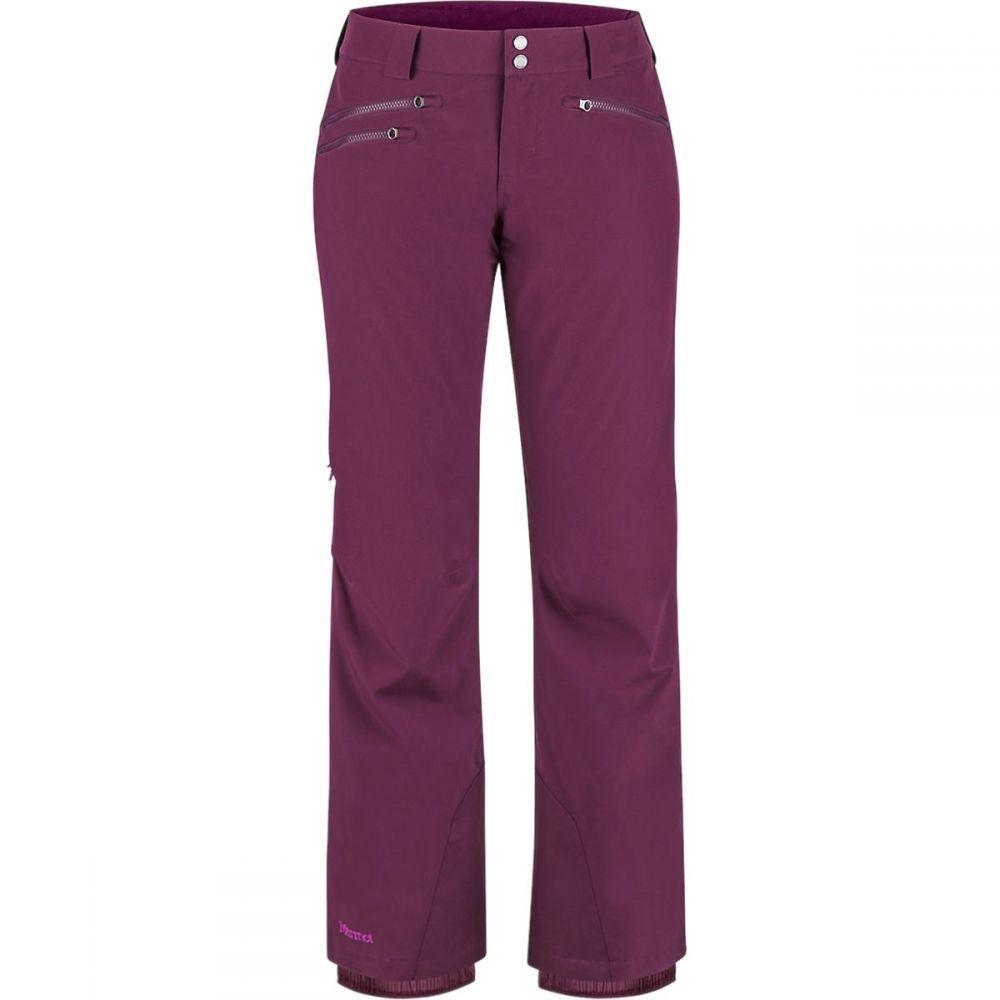 マーモット Marmot レディース スキー・スノーボード ボトムス・パンツ【Slopestar Pant】Dark Purple/Grape