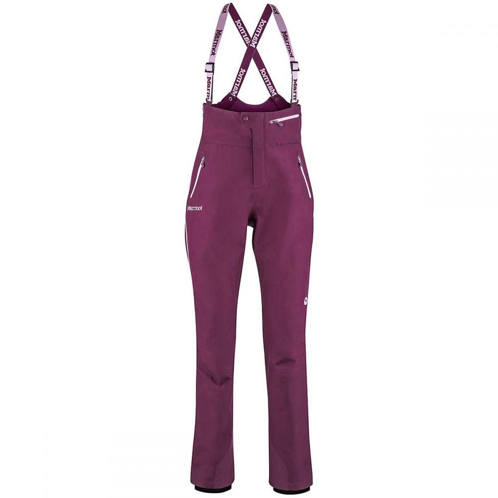 マーモット Marmot レディース スキー・スノーボード ボトムス・パンツ【Spire Bib Pant】Dark Purple