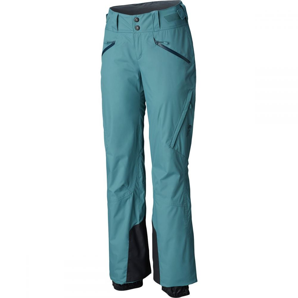 マウンテンハードウェア Mountain Hardwear レディース スキー・スノーボード ボトムス・パンツ【Link Insulated Pant】Lakeshore Blue
