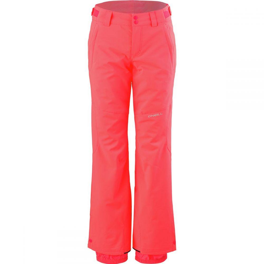 オニール O'Neill レディース スキー・スノーボード ボトムス・パンツ【Star Insulated Pant】Neon Tangerine Pink