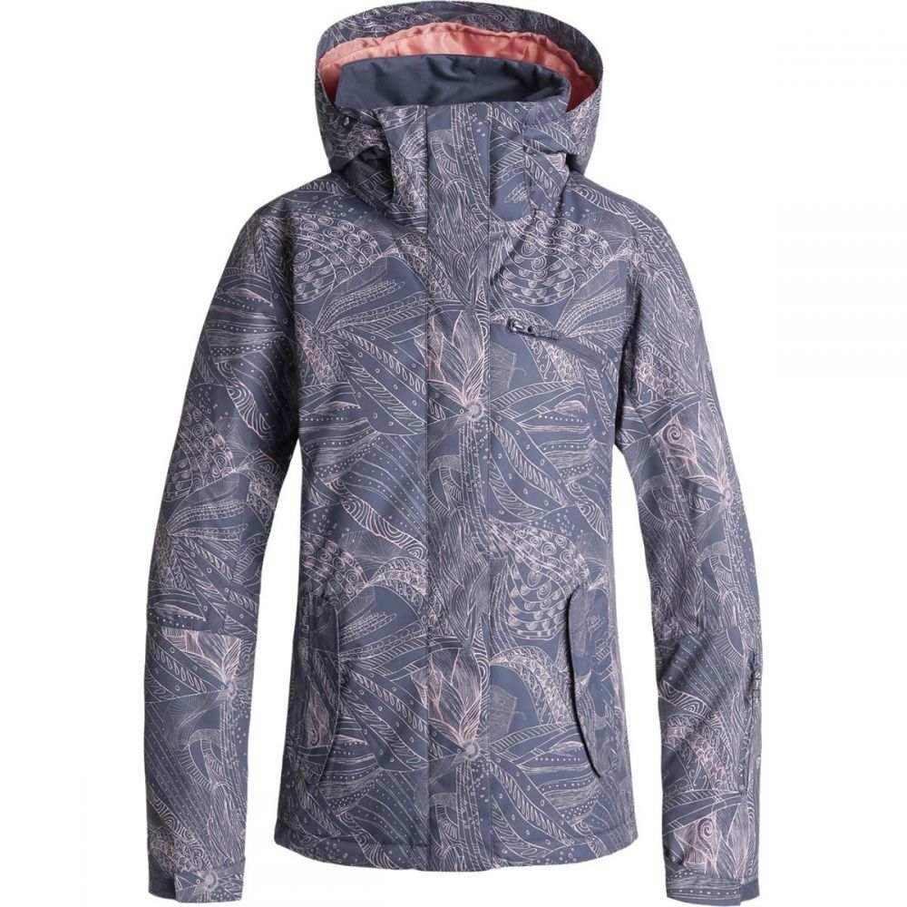 ロキシー Roxy レディース スキー・スノーボード アウター【Jetty Hooded Jacket】Crown Blue/Queen Motif